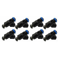 Lot of 8 42LB 12613412 Fuel Injectors For GMC Chevy 6.0L V8 ACDelco 217-3412
