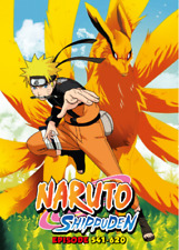 Naruto Shippuden TV Series DVDs Box Set (Episodes 541 - 620) with English Dubbed