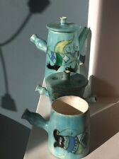 Vallauris vintage trois pièces de forme crées par Marie Christine Treinen