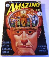 Amazing Stories #3 – UK pulp – October 1950 - Rog Phillips, Kris Neville, Bloch