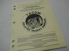 Department of the Army Tb 43-0221-1 Tacom Delayed Desert Damage 1992