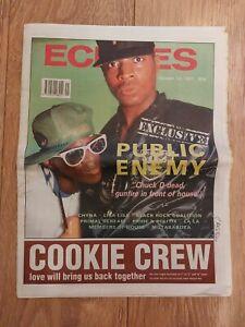 ECHOES MAGAZINE 12 OCT 1991 PUBLIC ENEMY CHYNA LISA LISA PRIMAL SCREAM LA LA
