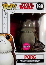 STAR WARS Porg - Limited Flocked Edition - Funko Pop! The Last Jedi