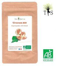 Urucum BIO - 60gr de Poudre Biologique - ANTIOXYDANT ANTI-AGE PEAU BRONZAGE