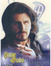 Stargate SG1 Season 5 False Gods Acetate Chase Card F11
