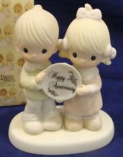 Precious Moments Figurine #2853 God Bless Our Years Together (trumphet  mark)