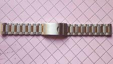 BRACELET MONTRE ACIER  /  / WATCH BAND 18mm  BICOLORE  REF.CU13