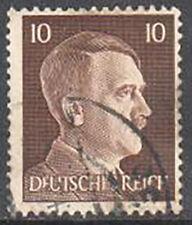 SC#512 - Germany Nazi 3rd Reich 1941 - Adolf Hitler Head 10 Pfennig Used (512-3)