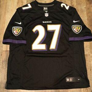 Ray Rice #27 Baltimore Ravens Nike NFL Football Stitch Jersey Size XXL 2XL