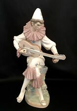 "~RARE~Lladro ""Serious Clown"" Harlequin(4923 MINT in Box) Value 1,720.00"