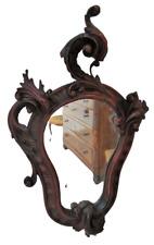 Specchiera barocca in legno intagliato - rococò - barocchetto - Luigi XV '700