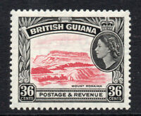 British Guiana 36 Cent c1954-63 Lightly Mounted Mint Stamp (2598)