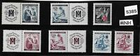 #5385    MNH Third Reich set / Nurses &  Red cross / WWII  Occupation 1940-1943