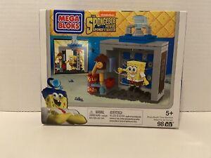 Mega Bloks SpongeBob Squarepants Movie Photo Booth Time Machine NEW