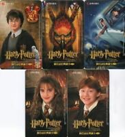 Harry Potter and the Chamber of Secrets Japanese Chase Card Set 12 Cards