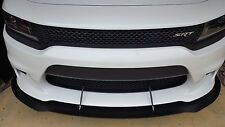 FRONT SPLITTER+WINGLETS+2 SUPPORT RODS 15-18 Charger SRT392, Scatpack, HELLCAT