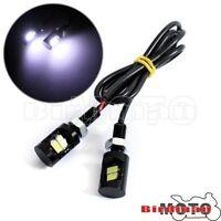 "Motorcycle Car Rear 0.47"""" LED Bulbs License Plate Bolt Light Lamp Universal New"