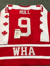 BOBBY HULL AUTOGRAPHED SIGNED INSCRIBED CANADA JERSEY JSA  COA