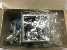 Case of 30 Global Industrial Mounting Brackets With Hardware 603CP136