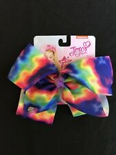 JoJo Siwa tie-dyed hair bow