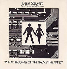 DAVE STEWART What Becomes Of The Broken Hearted / The Is No Reward 45