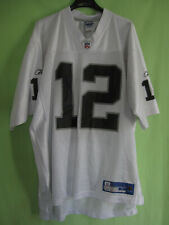 Maillot Raiders Oakland Rich Gannon Football Americain #12 Reebok Jersey - L
