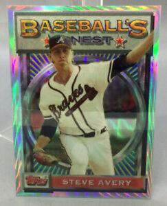 1993 Topps Refractor - Steve Avery - Baseball Card
