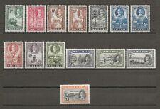 NIGERIA 1936 SG 34/45 , 36a , 38a , MNH Cat £460