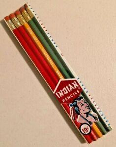 VINTAGE VENUS Indian Pencils No. 730-J No.2 Pencil Very Rare NOS -- 3110