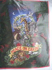 """Dimensions Christmas Needlepoint Stocking Kit,PEACEFUL EARTH,Animals,9116,16"""""""