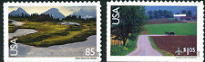 US Scott # C149 & C150 Glacier National Park & Lancaster County MNH**FREE SHIP**