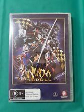 Ninja Scroll - DVD Region 4 - BRAND NEW STILL SEALED