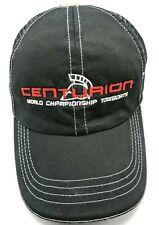 CENTURION BOATS black adjustable cap / hat