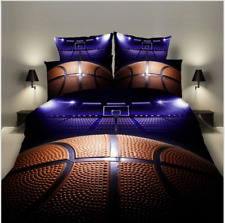 Awesome 3D Basketball Sport Bedding Set Duvet Cover Comforter Cover Pillow Case
