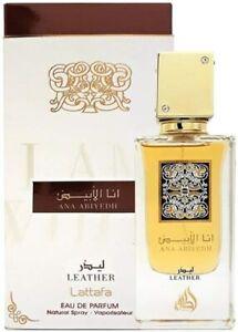 Parfum ANA ABIYEDH LEATHER 60 ml Lattafa Vétiver, Patchouli, Musc Blanc, Cuir
