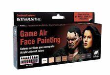Av Vallejo Juego de Aire-Aire Cepillo Cara Pintura (hombre y hembra) VAL72865