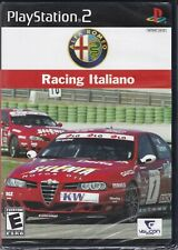 Alfa Romeo Racing Italiano (Sony PlayStation 2, PS2, 2006) *NEW*