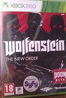 "JEU XBOX 360 ""WOLFENSTEIN"" (THE NEW ORDER) Action - FPS - NEUF SOUS BLISTER"