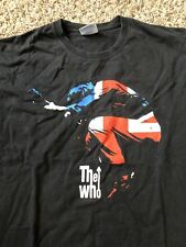 d95f7fd2 Vintage 90's The Who T Shirt Concert Tour Merch Sz M Hanes Heavyweight Very  Rare