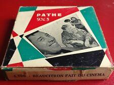 Film Pathé 9,5mm Beaucitron  fait du cinéma