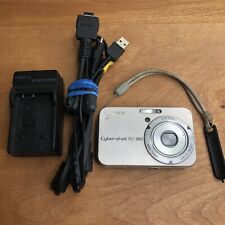 Sony Cyber-Shot DSC-N2 10.1MP Digital Camera - Gold TESTED w/ Battery & More Lot