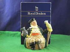 """ROYAL DOULTON"""" LONG JOHN SILVER"""" D6853 Teiera con libero BOX USC rd3162"""