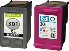 HP 301-XL Original+Refill  Envy 4500 5530 4502 4504 4507 4508 5532 5534 4503