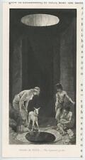 New listing ANTIQUE SHEPHERDESS SHEPHERD LAMB SHEEP LUPERCAL CAVE ROME ITALY MINIATURE PRINT