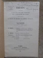 THESE SCIENCES.P.GAGNON.Contribution à Etude diphényl-hydrindone et ses dérivés