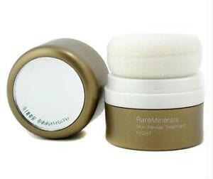 Bare Escentuals RareMinerals NIGHT Skin Revival Treatment CLEAR .15oz NIB Sealed