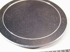 62mm Screw-On Aluminum Lens Cap
