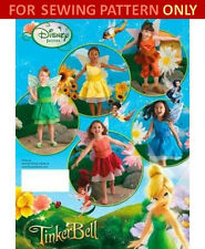 SEWING PATTERN! MAKE TINKER BELL COSTUME! CHILD~DISNEY~FAIRY~TINKERBELL~SIZE 3-8