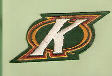 """#D94.  RUGBY LEAGUE PATCH - """"K"""", AUSTRALIAN KANGAROOS, MARKED"""