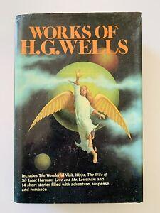 Works of HG Wells- 1982 HCDC- Wonderful Visit, Kipps, Wife...Harman, Lewisham...